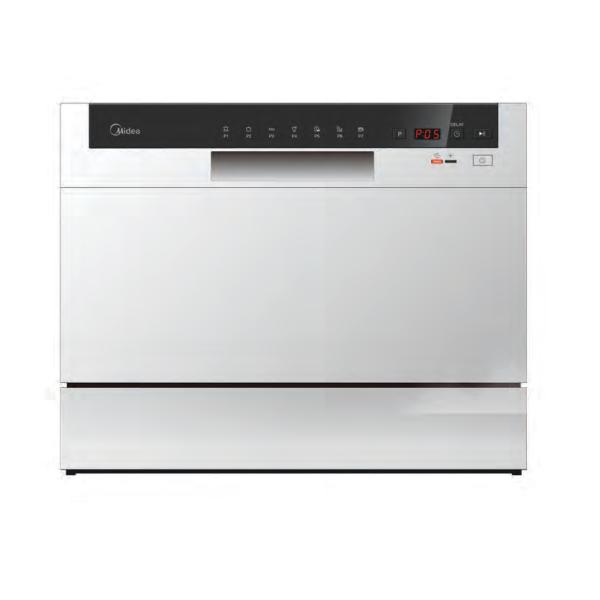 Midea Appliances: Midea Countertop Dishwasher